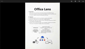 Office Lens Document Scanned