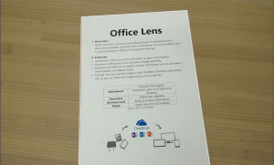 Office Lens Document