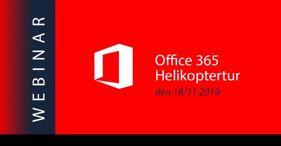 Office 365 helikoptertur webinar