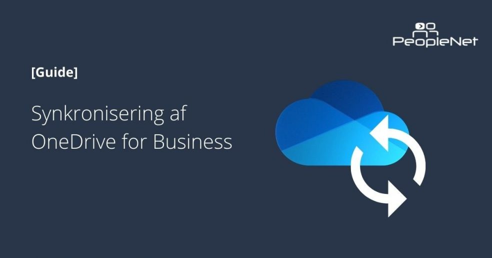 Synkronisering OneDrive for Business