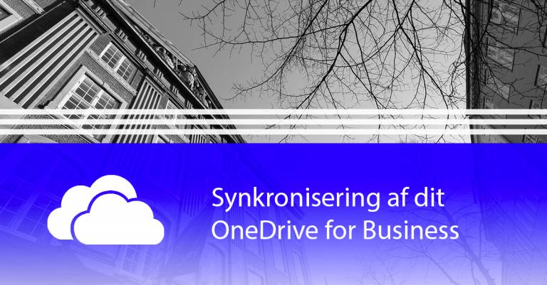 Synkronisering af dit OneDrive for Business