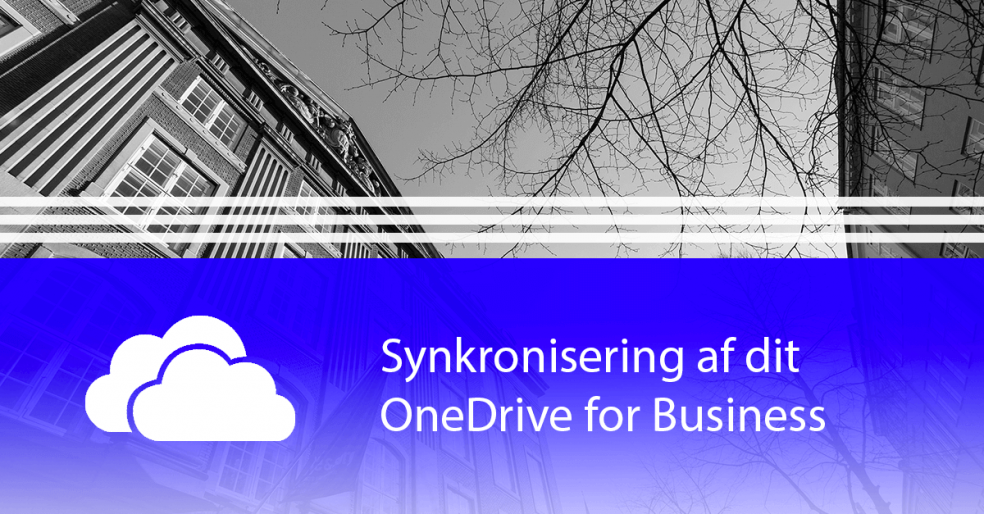 Synkronisering af dit OneDrive for Business