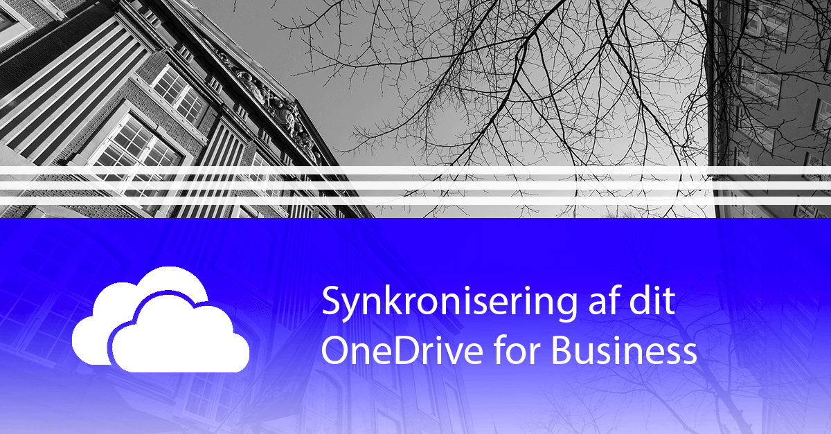 Sådan synkroniserer du OneDrive for Business