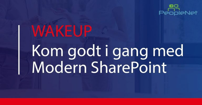 kom godt i gang med modern sharepoint