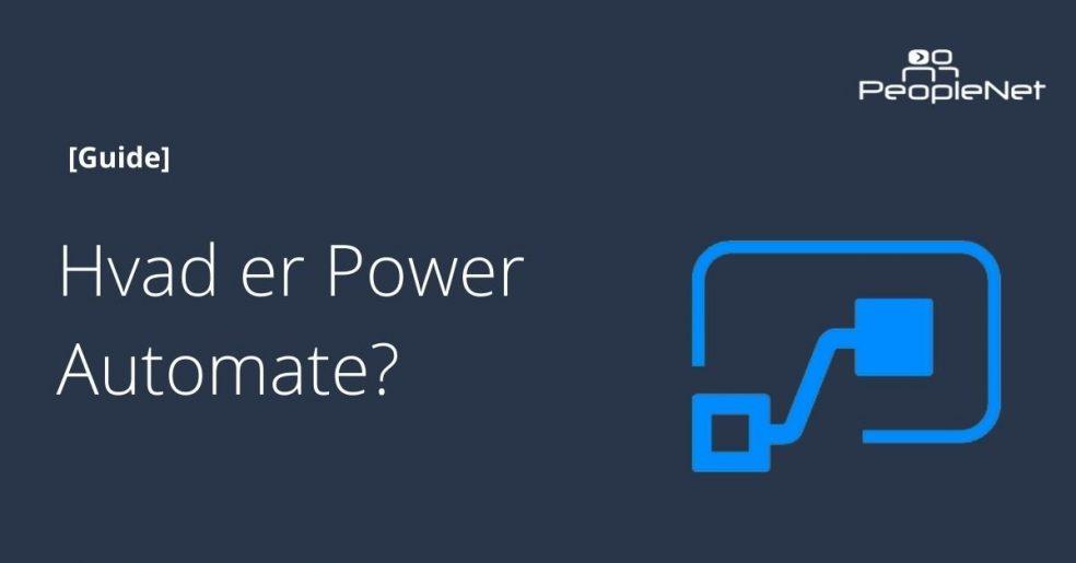 Effektiv automatisering med microsoft power automate