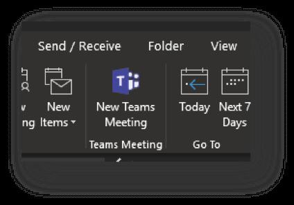 Opret møde i Teams