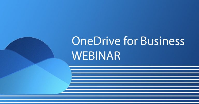 onedrive for business webinar