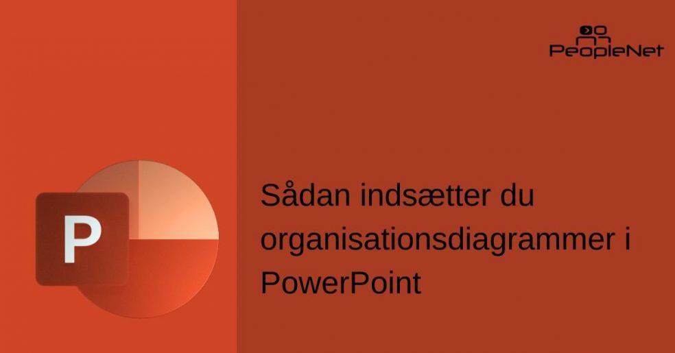 Organisationsdiagrammer i powerpoint