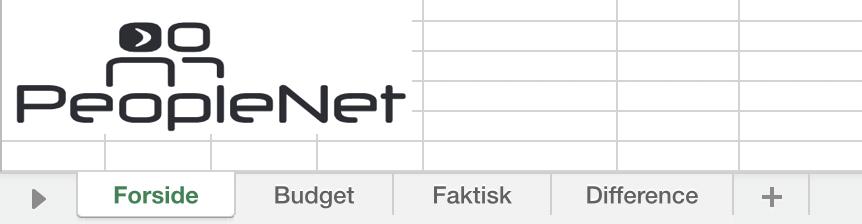 Sådan laver du et Excel budget