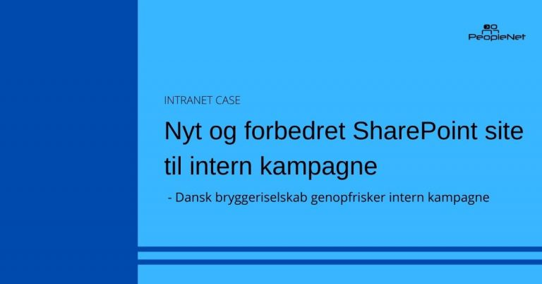 Forbedret SharePoint site