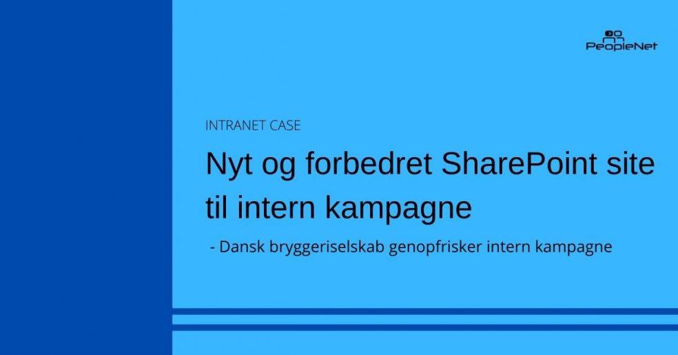 Forbedret SharePoint site