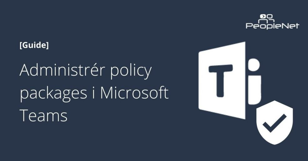 Policy package microsoft teams
