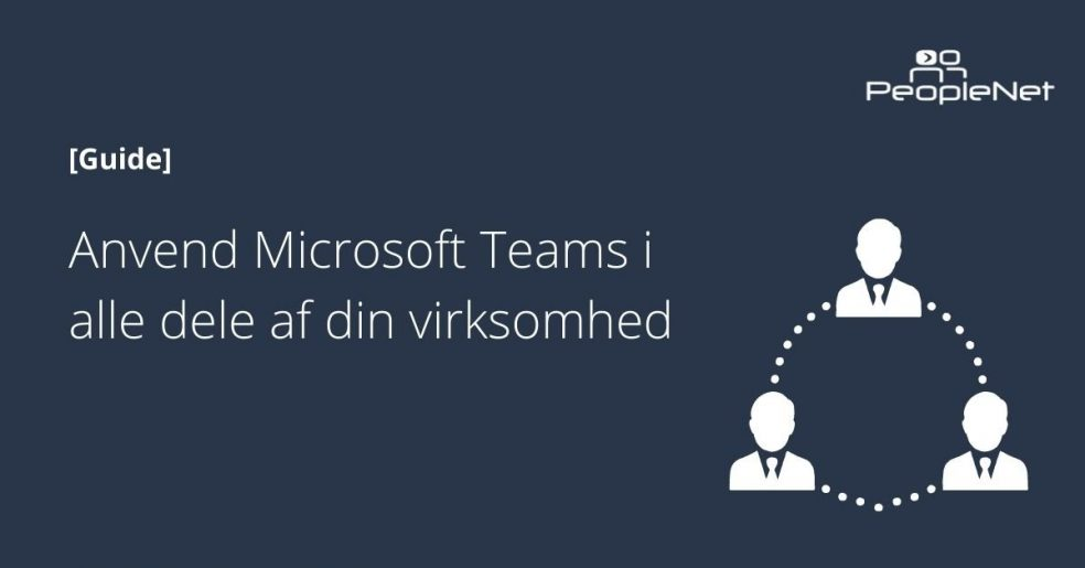 Konfiguration af microsoft teams