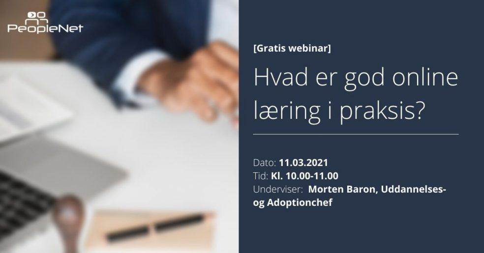 Online læring i praksis