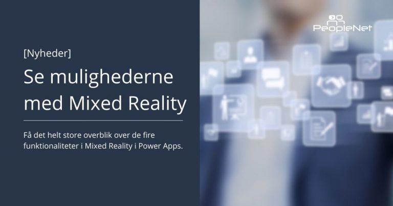 Mixed Reality I Power Apps