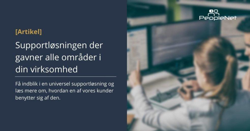 PeopleNet supportløsning