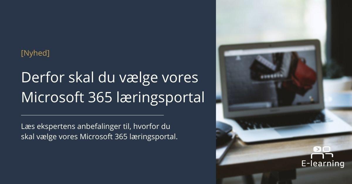 Peoplenet Microsoft 365 læringsportal